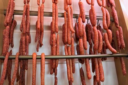 air dried: Air dried sausage