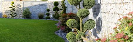 Neat and tidy garden Standard-Bild