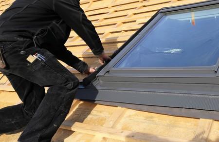 天窓の取り付け