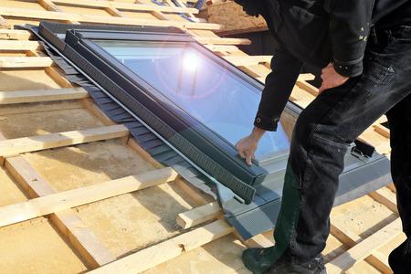 Een dakraam installeren