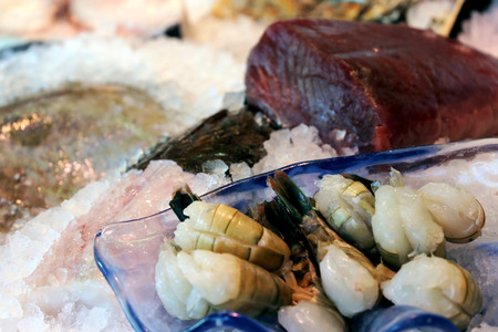 Fish counter, close up Stock Photo