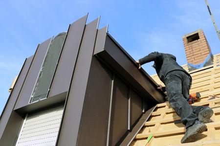 ドーマーの建設(ルーファー、大工、配管工)