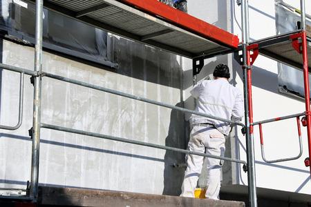 Painting works, facade painting