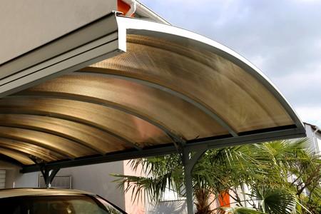 High-quality aluminum carport Stok Fotoğraf - 97796474