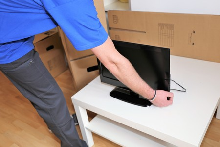 Relocation: Packing up a monitor