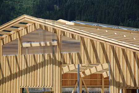 Carpentry work: Timber construction, roof construction