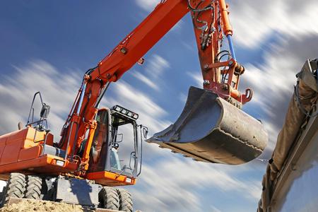 Dredging (Earthwork with excavator)