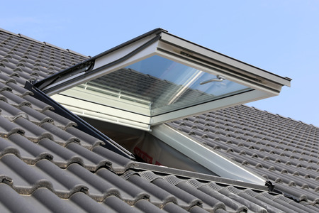 Skylight on a residential home
