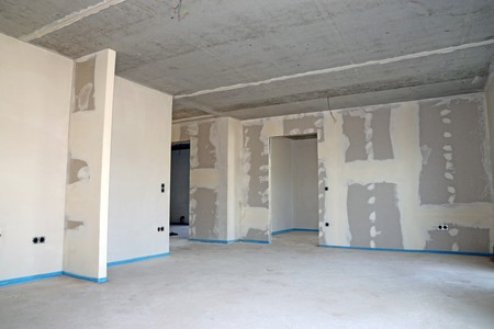 Dry construction, interior shot Standard-Bild