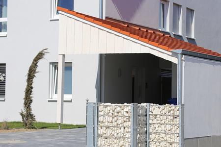 Modern high-quality carport