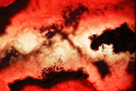 Illuminated onyx plate as background
