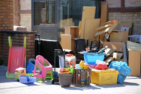Bulky waste, household trash