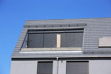 Large dormer with modern shutter Reklamní fotografie
