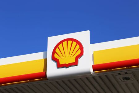 Shell filling station in Germany (Hassloch, Germany, September 10, 2019)