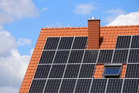 Einfamilienhaus mit Solaranlage bzw. Photovoltaikanlage