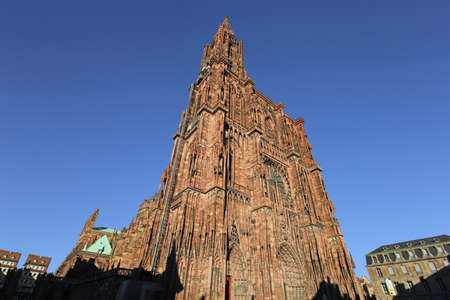 The famous Strasbourg Cathedral