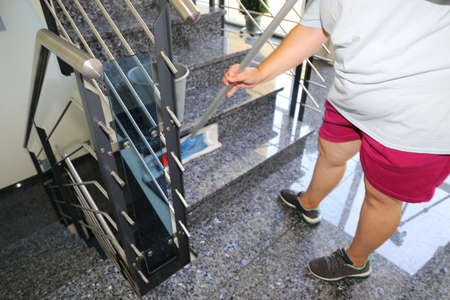Professional staircase cleaning Stock fotó