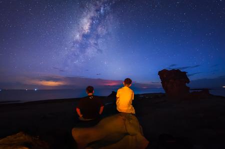 observing: having time observing the sky