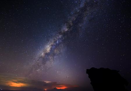 astrophysics: milky way Stock Photo