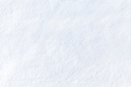 Snow texture. High angle view. White abstract background. Fresh fine snow, like dust.