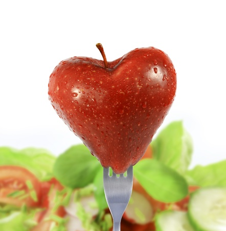 diet love Stock Photo - 13639037