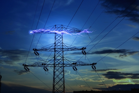 Electricity concept photo