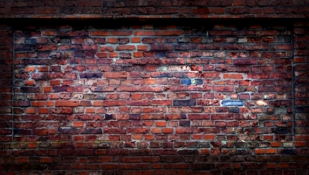 Abstract grunge brick wall photo