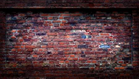 Abstract grunge brick wall photo