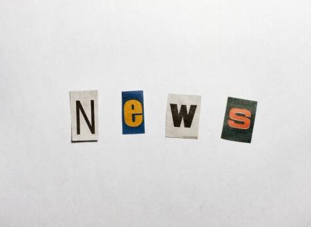 News letters concept photo