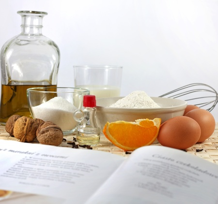 ingredients: Recipe and baking