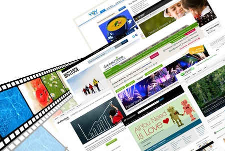 editorial: Stock photography websites