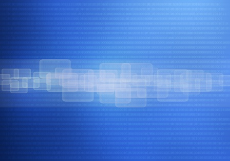 Abstract technology background blue photo