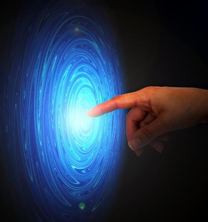 Raak de ruimte andere dimensie