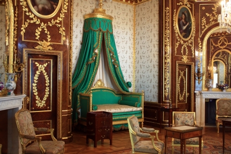 luxury interior in Warsaw Castle