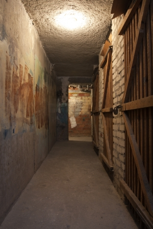 hdr: basement in the dark
