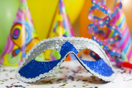 children party: Party accessories abstract background
