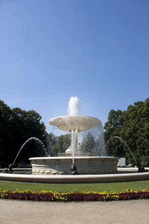 garden fountain:  Water fountain in Warsaw