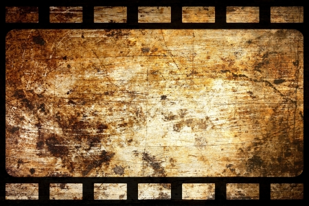 grange: old grunge film frame