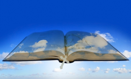 Bible in the sky photo