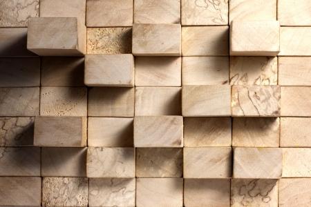 Blocchi di legno astratto concetto sfondo vintage