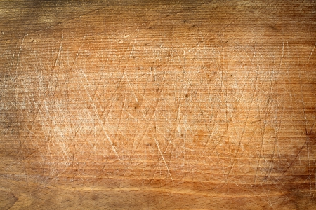 Old grunge wooden cutting kitchen desk board  photo