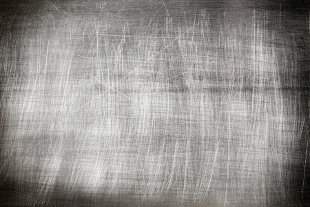 scratched metal:  Metal vintage background texture witch scratches