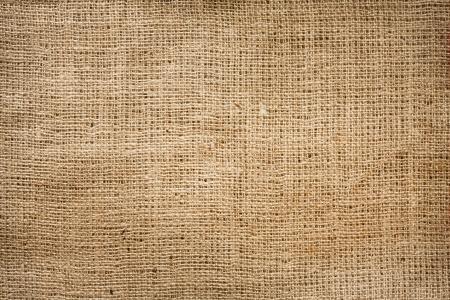 Arpillera de yute fondo de la vendimia Foto de archivo