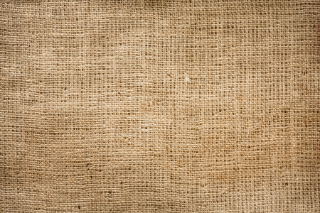 Burlap jute canvas vintage background Stock Photo