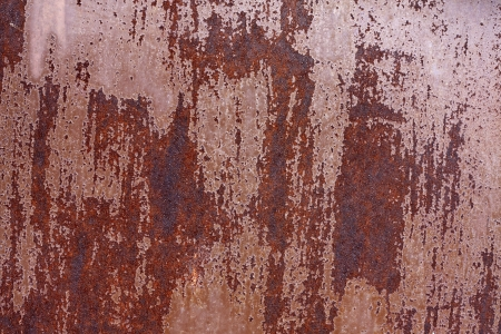 Rusty metal background texture photo