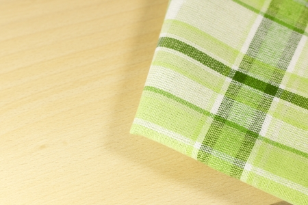 Tablecloth in the kitchen abstract food background photo