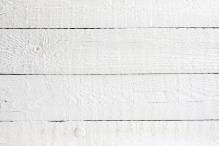 Old retro white painted wooden planks background photo