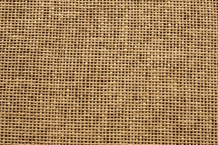 Jute mat burlap background texture