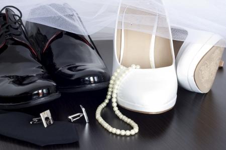 Wedding shoes concept Stock Photo - 18969888