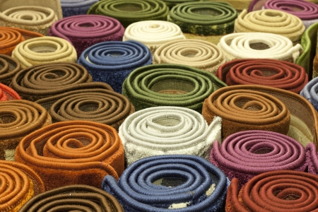 carpet and flooring: Carpets in the store